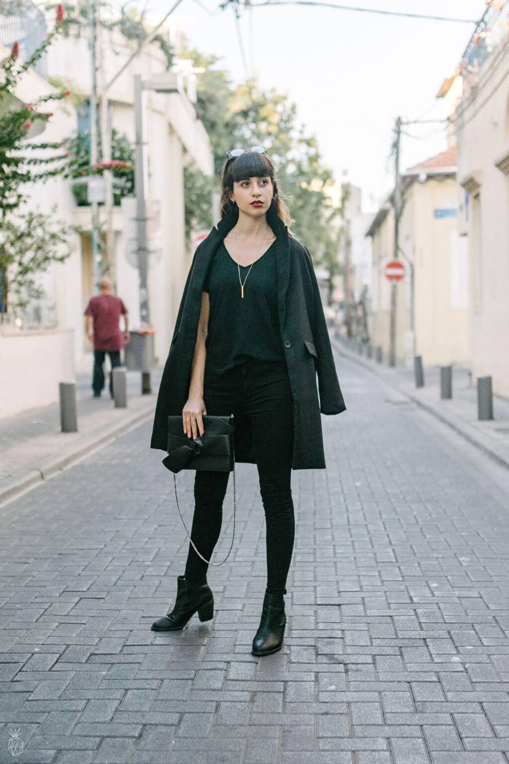 Outfit : Head-to-Toe Black - Outfit inspiration for winter | Fashion minimalist