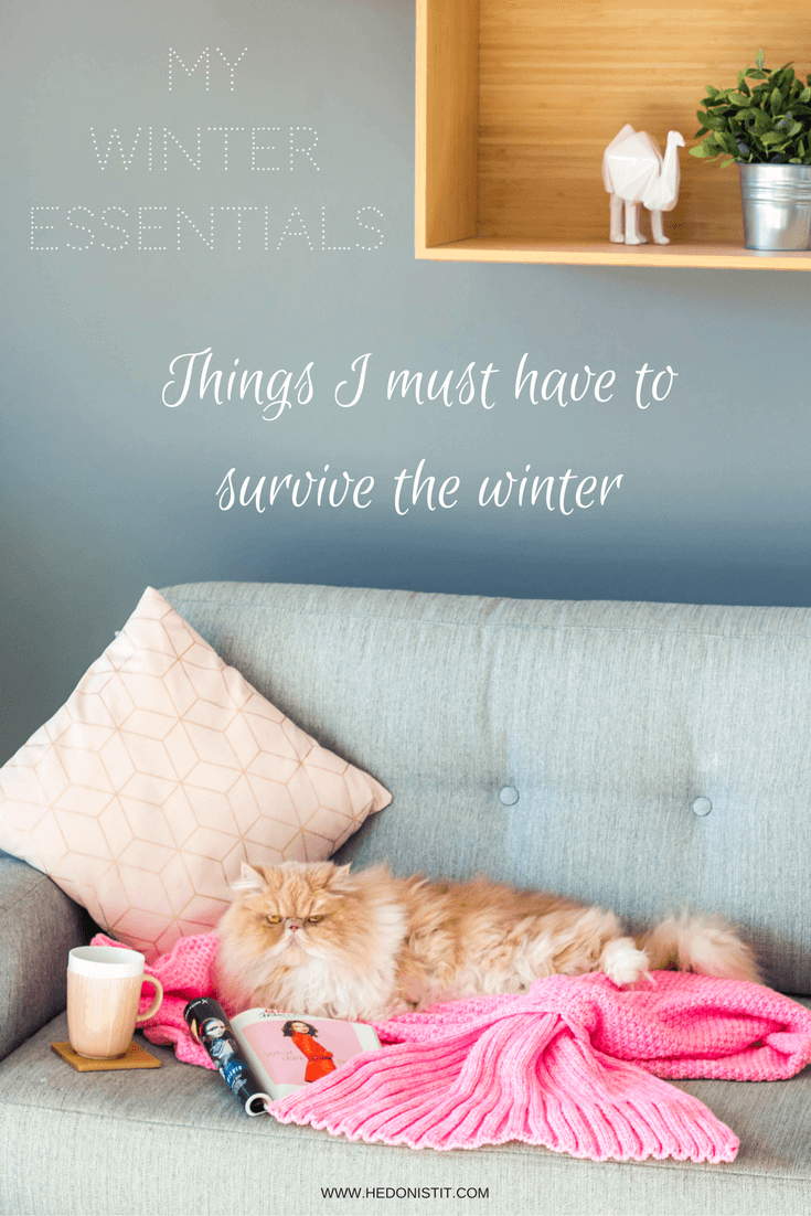 These are the thinks that makes me winter fabulous! from hot water bottle, through fuzzy blankets , to dark lipsticks! check out the full list on www.hedonistit.com