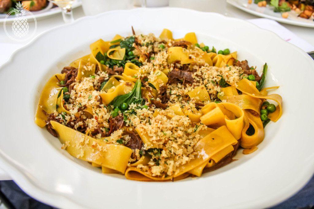 מסעדת פאסטל מוזיאון תל אביב - פפרדלה ראגו טלה בבישול ארוך