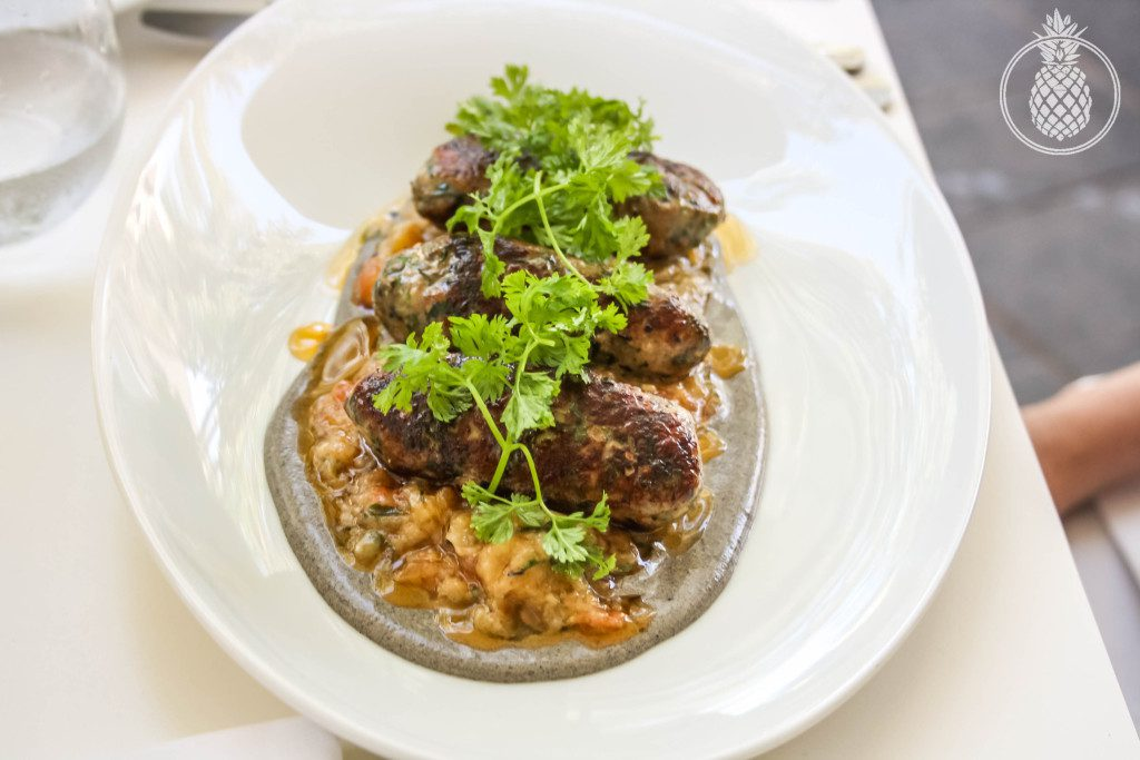 מסעדת פאסטל מוזיאון תל אביב - קבב דגי ים