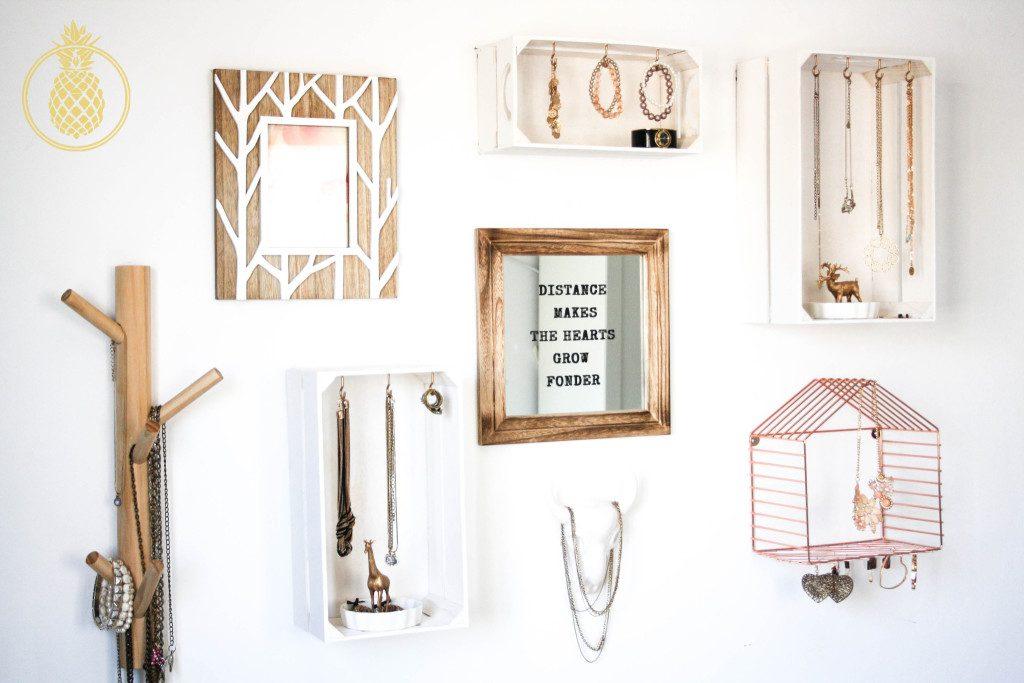 קיר אקססוריז accessory wall diy