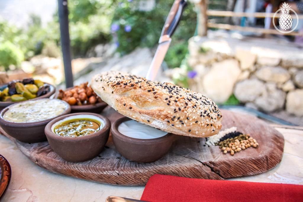 בראנץ׳ טעימות במטבח של רמה בנטף best brunch in israel Rama's kitchen-14