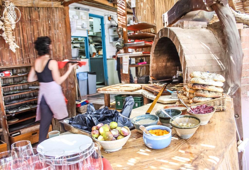 בראנץ׳ טעימות במטבח של רמה בנטף best brunch in israel Rama's kitchen-40