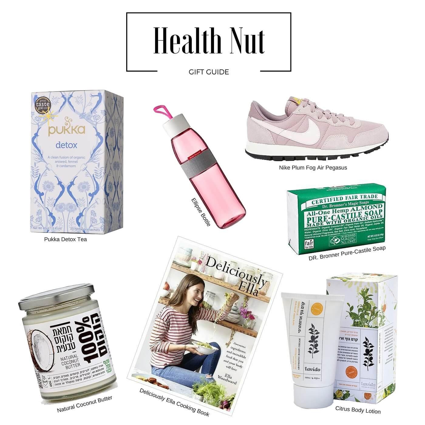Holiday gift Guide For The Health Nut