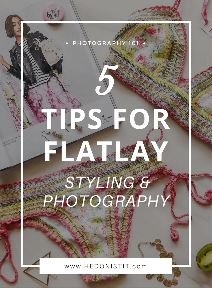 Flatlay Photography & Styling : Learn How To Perfect Your Flatlay With These Great And Easy Tips   Hottest trend in Instagram - The Flatlay   Click Through For The Full Guide @ http://www.hedonistit.com >>