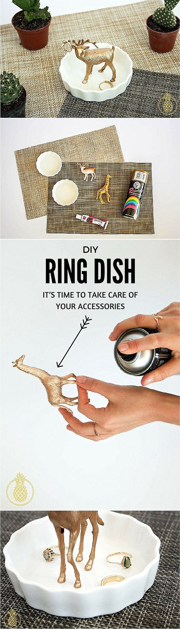 DIY Ring Dish – It's time to take care of your accessories
