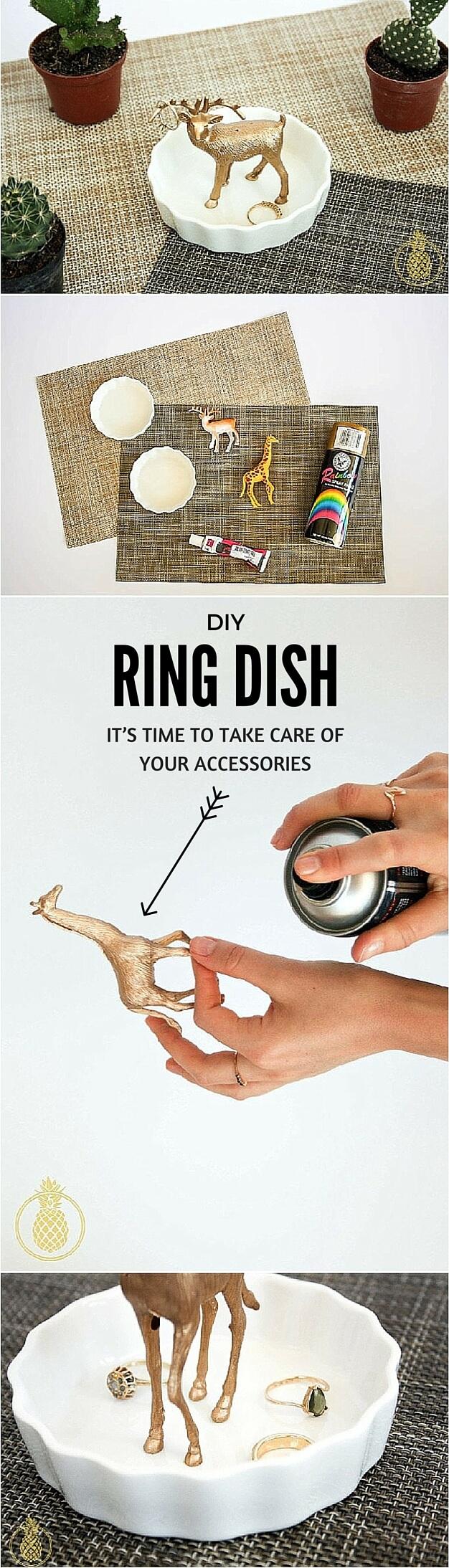 DIY SUPER CUTE Ring Dish