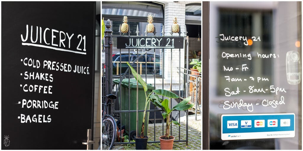 Juicery 21 - Where To Eat In Zurich - The best places to eat to enjoy sweet and savory food in Zurich, Switzerland | Travel the world | Travel destinations | To see the full article click on the photo