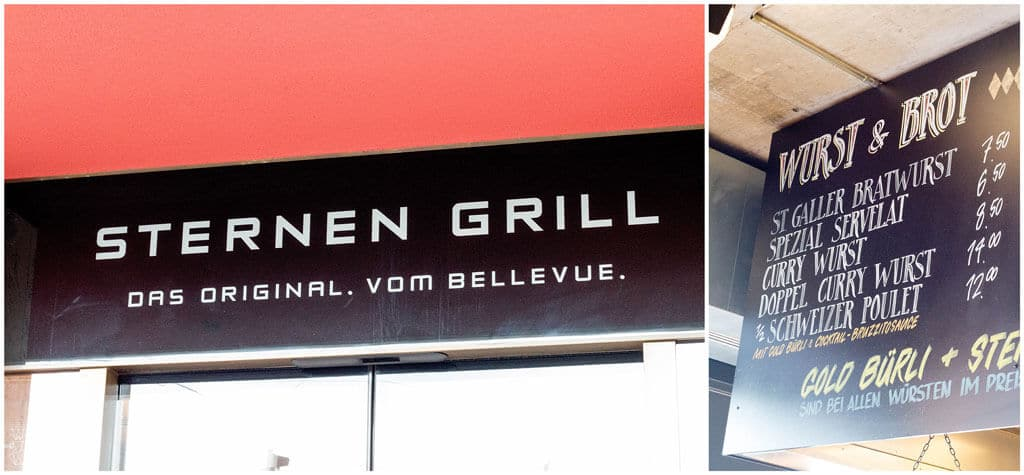 Sternen Grill - Where To Eat In Zurich - The best places to eat to enjoy sweet and savory food in Zurich, Switzerland | Travel the world | Travel destinations | To see the full article click on the photo