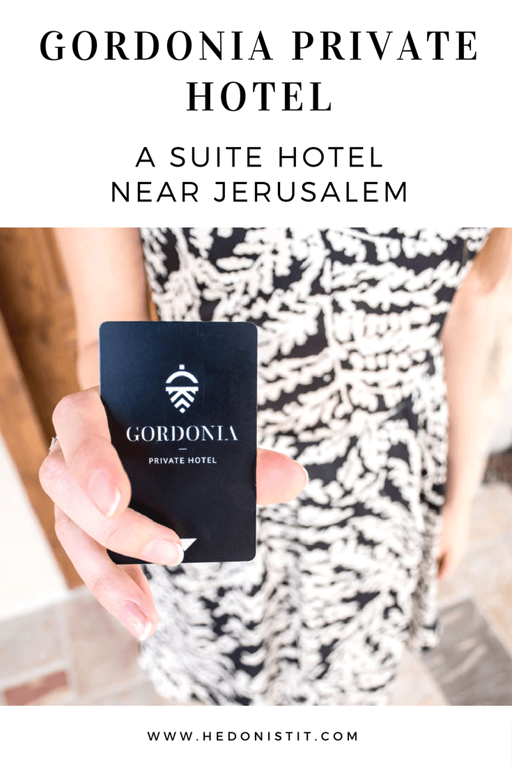 ISRAEL : GORDONIA PRIVATE HOTEL – IT'S ALL ABOUT EXCLUSIVITY | Amazing suites luxury hotel near Jerusalem | Places to stay in Israel | Travel destinations to add to your bucket list | | Visit us @ hedonistit.com for more!