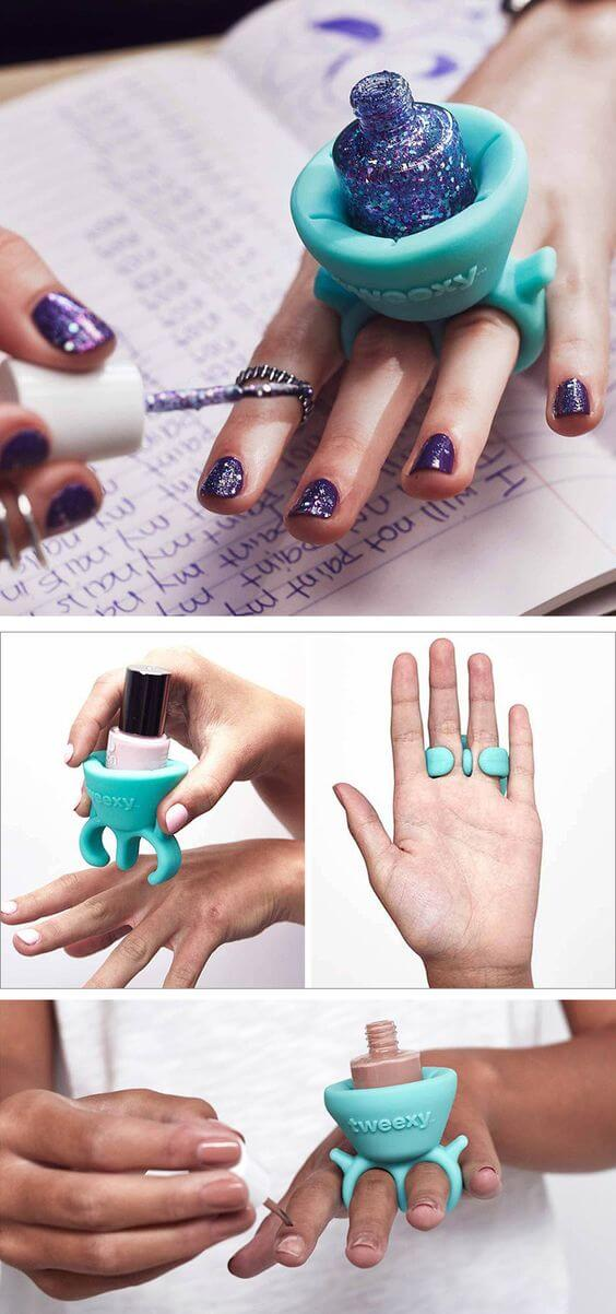 How to paint your nails like a pro - DIY nail guides, tips & hacks from pinterest