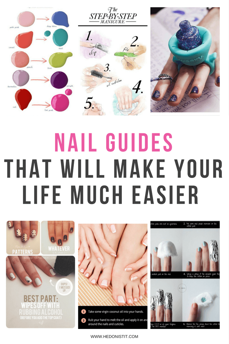 10 Easy DIY Nail Hacks, Tips, Tricks and Tutorials You can do instead of spending time and money on the salon | nail shapes | nail art | home manicure | DIY nails