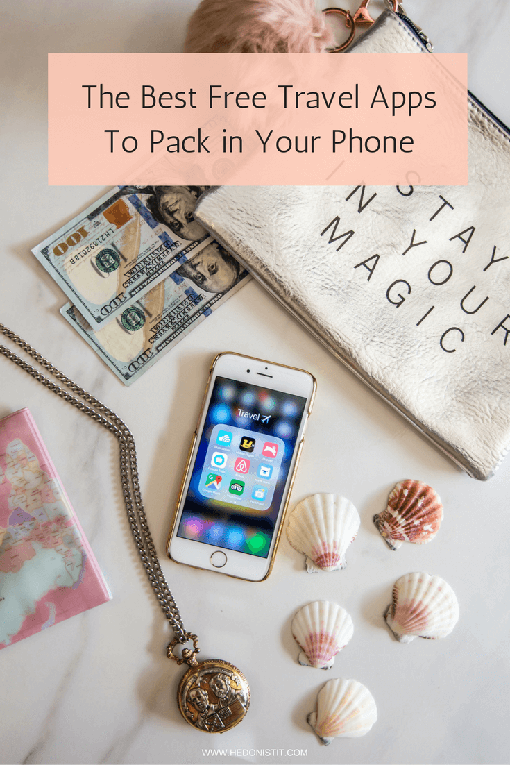The Best Free Travel Apps You Need To Pack in Your Phone When Starting to Plan A Trip   Travel Tips & Hacks   - Click through to read more at hedonistit.com
