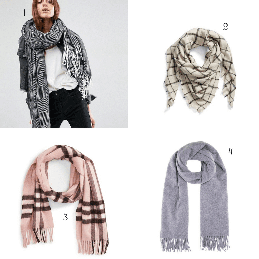 Winter Essentials : scarfs