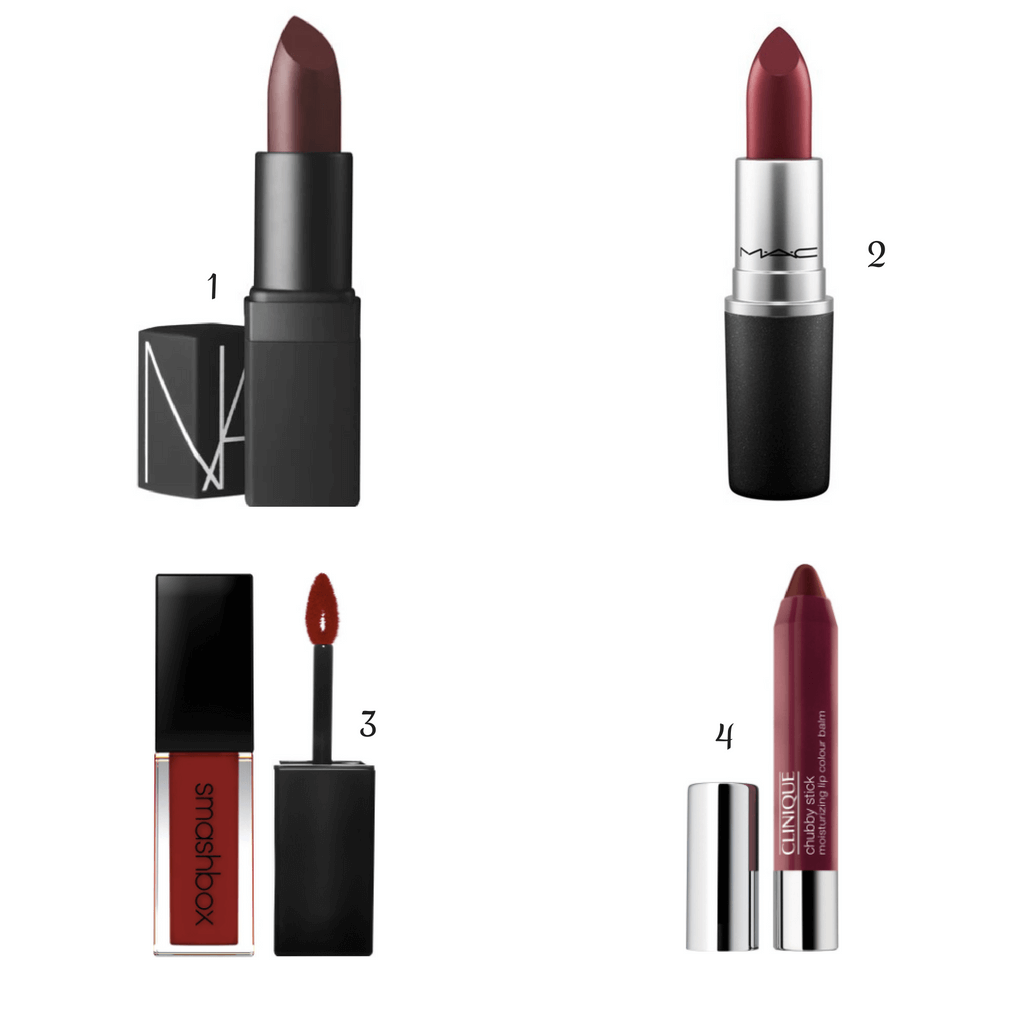 Winter Essentials : dark lipstick