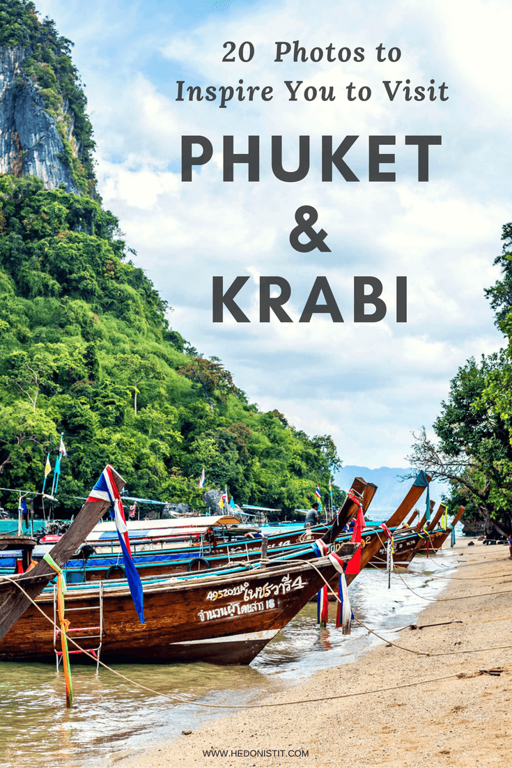 20 PHOTOS TO INSPIRE YOU TO VISIT PHUKET & KRABI - Looking for travel destinations to add to your bucket lists? Take a look at these 20 photos that will inspire you to visit beautiful Thailand - Land of the endless indulgences – tropical fruits, breathtaking views, and of course, the famous massages!