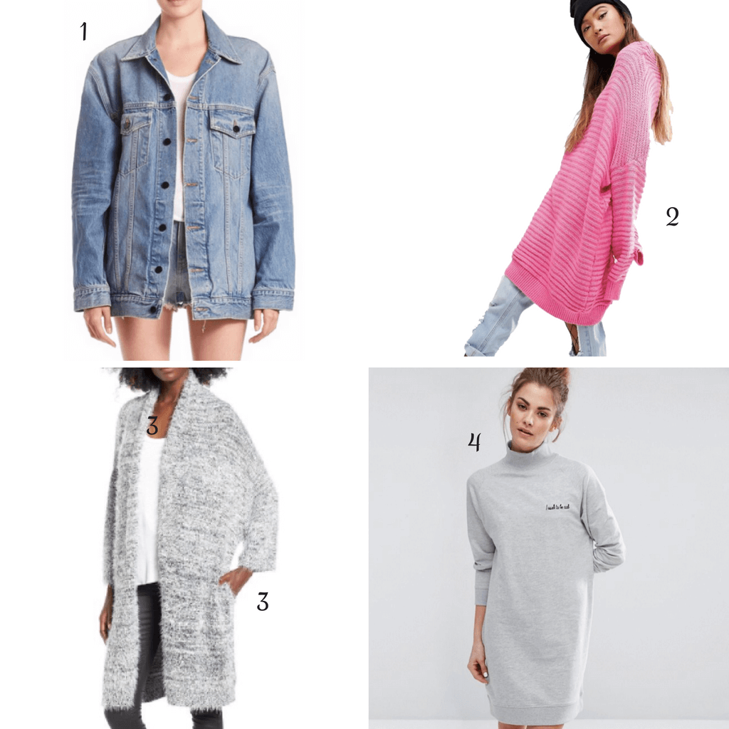 Winter Essentials : oversized everything