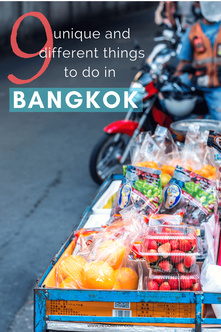 This guide is exactly what I was missing during my first visit in Bangkok – an urban guide to Bangkok that shows a different side of the city. In this guide, you'll find tips for the city and an alternative option for lounging, special coffee shops, markets that are under the radar and recommendations, of course, about food ;) Click through to read the full guide @ www.hedonistit.com