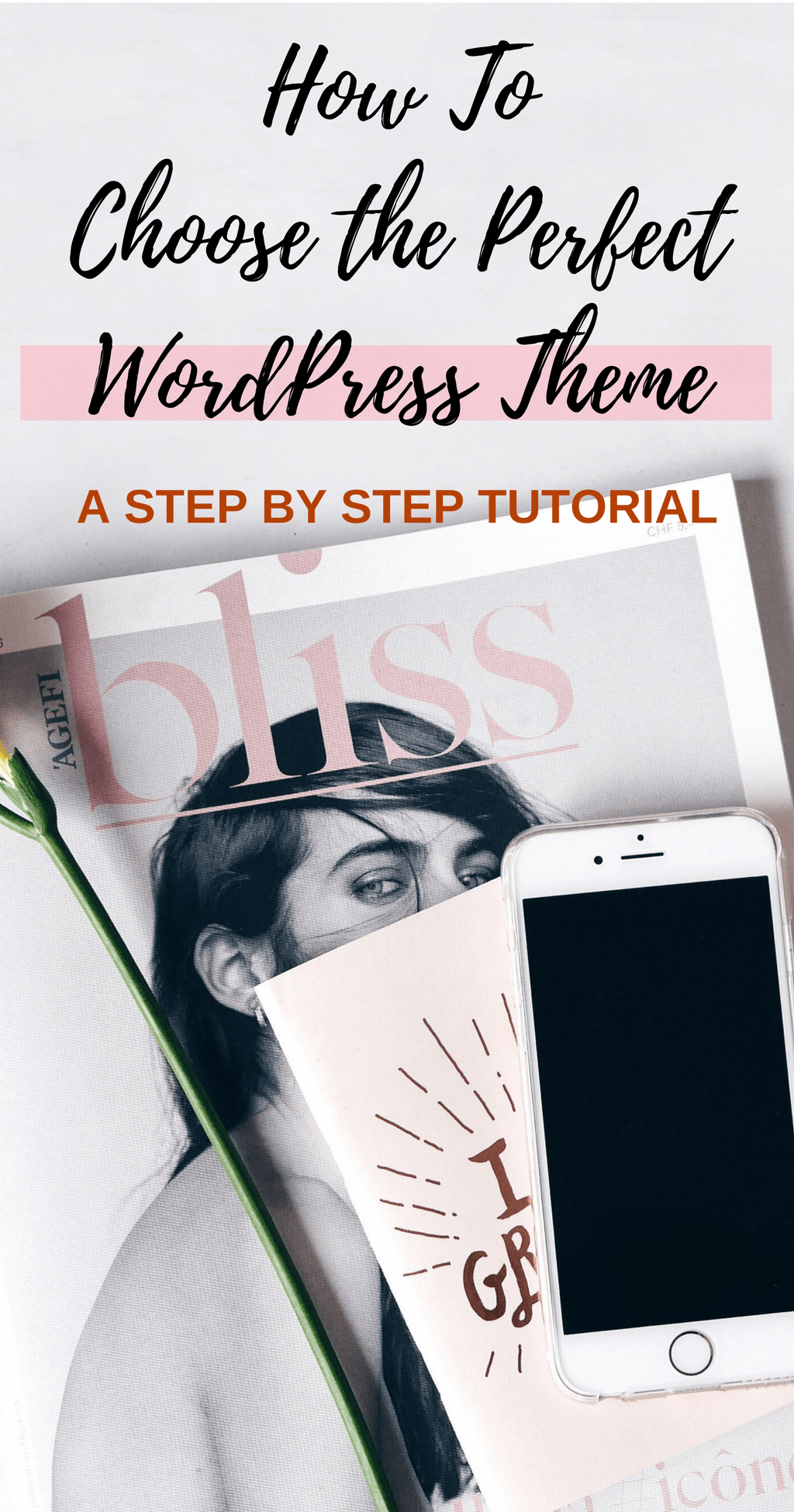 Learn How to Choose The Perfect WordPress Theme for Your Website - with this easy step by step guide + learn how to install the theme in 2 minutes! click through for the full guide @ hedonistit.com