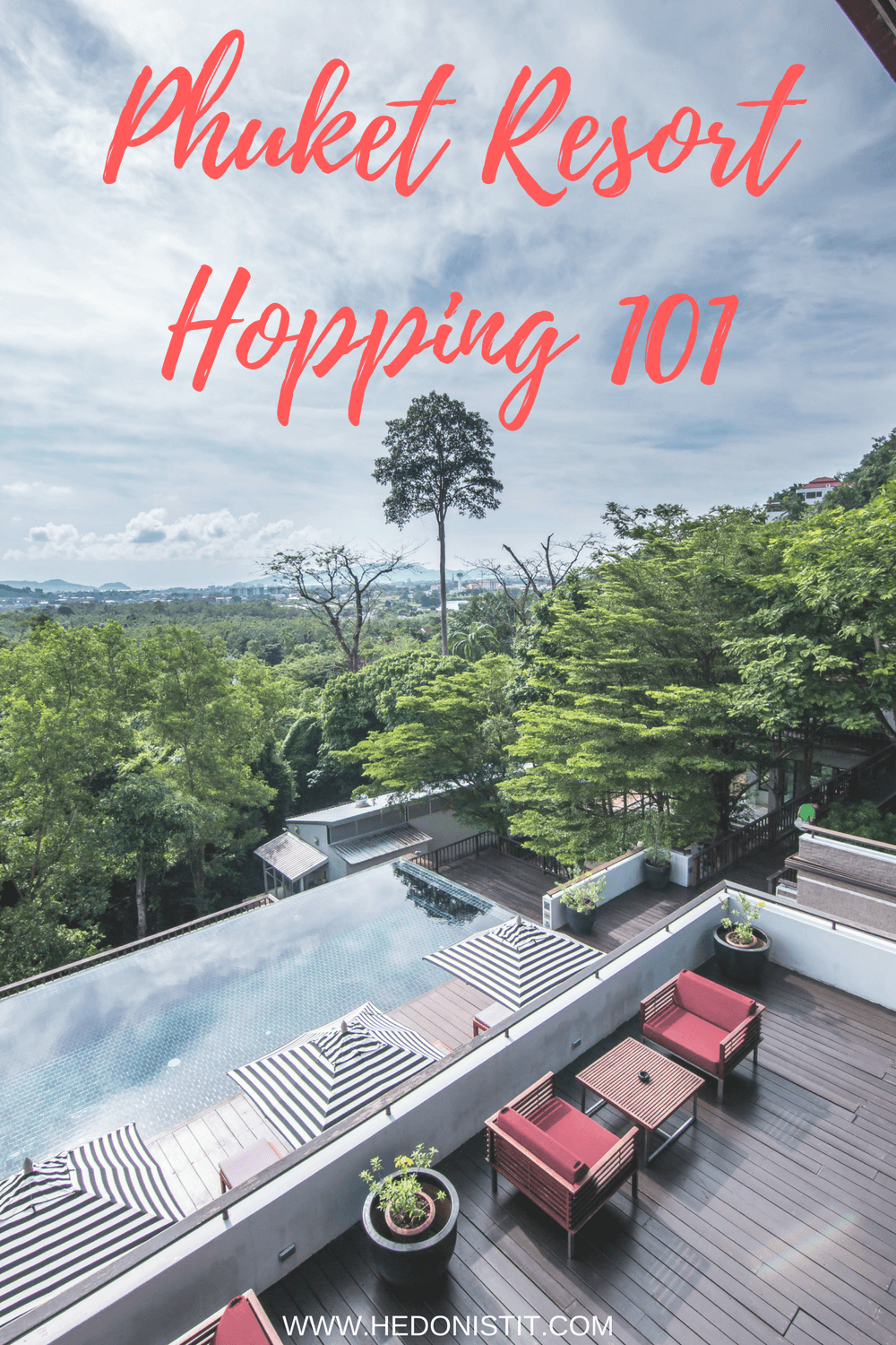 Planning a trip to Phuket, Thailand? You have to check out these 4 amazing and luxurious hotels we stayed in for our honeymoon before booking your hotel! www.hedonistit.com