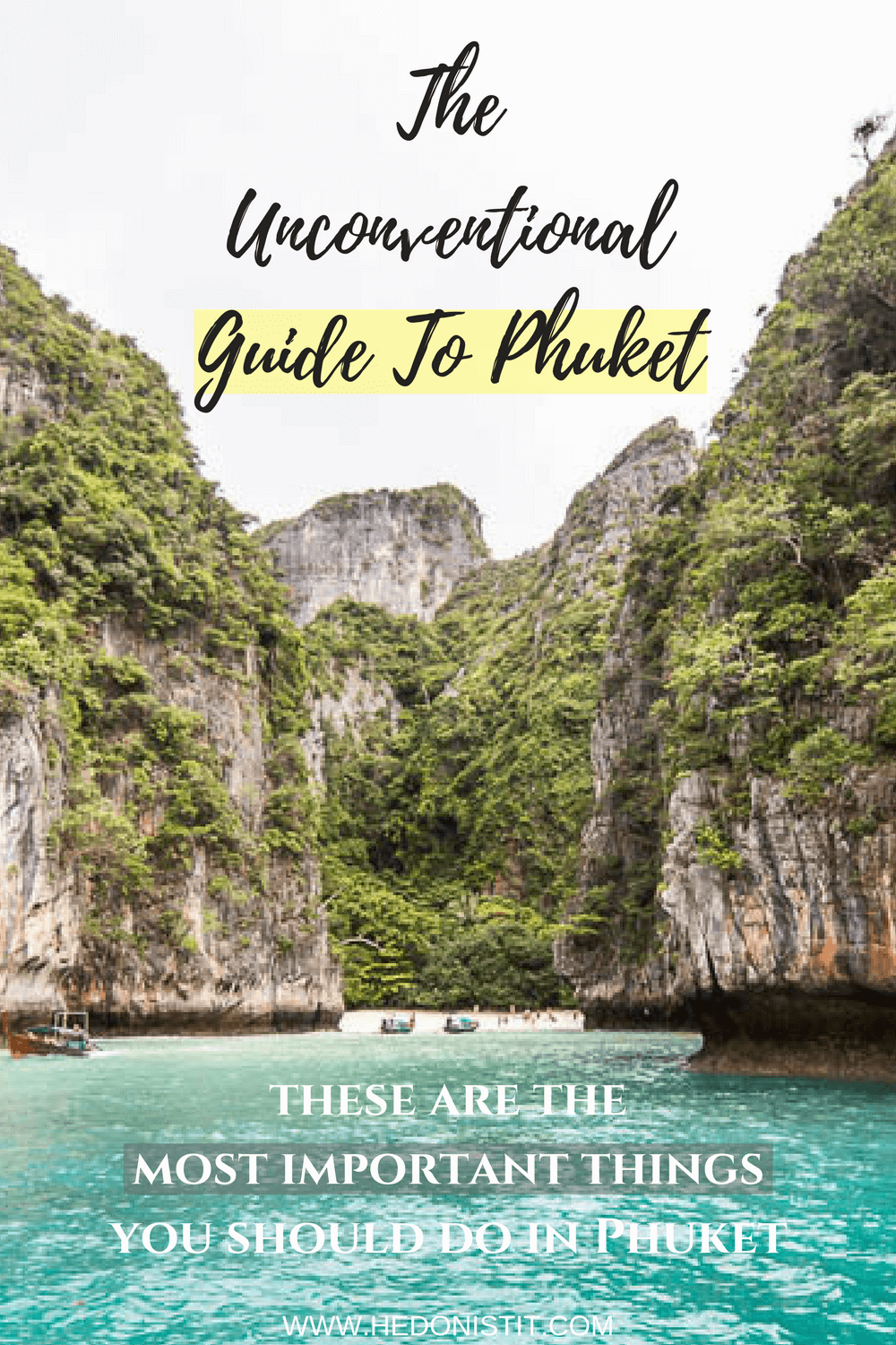 Tired of the same old generic Phuket travel guides? Read about the 6 things you have to do when going for a vacation in Phuket - and a few other attractions you should and shouldn't do while in the island. this article is simply great - pin it now and use it when in Phuket. Click through to read more @ www.hedonistit.com