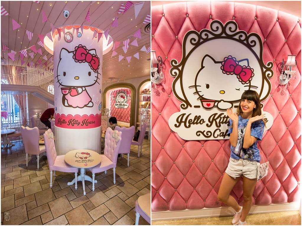 Bangkok - 9 unique and different things to do in the capital of Thailand {Hello Kitty House}