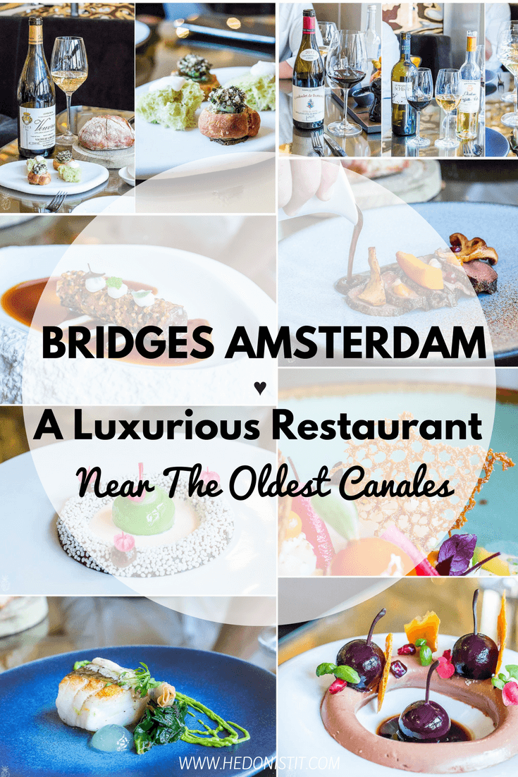 A seafood Michelin stared restaurant in Amsterdam - An elite restaurant near the oldest canals of the city - a must eat when in Amsterdam! Click through to read the full review @ https://www.hedonistit.com