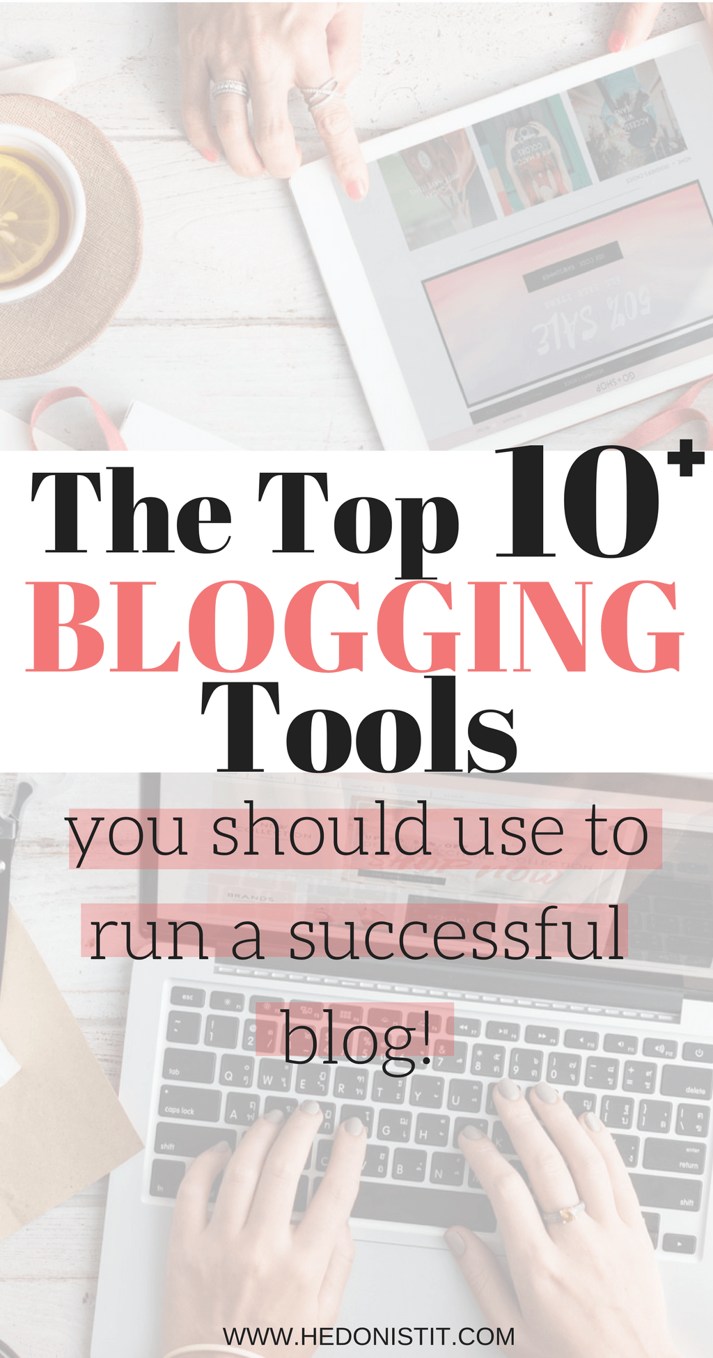 Here are my top 10 blogging essentials I use to run a successful blog. From hosting to marketing - You NEED to check this list out!