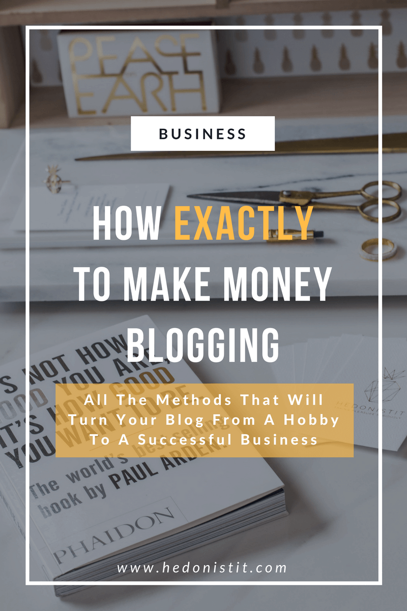 How to Make Money Blogging For Beginners : 7 Strategies that I Use To Make a Full-Time Income from Home