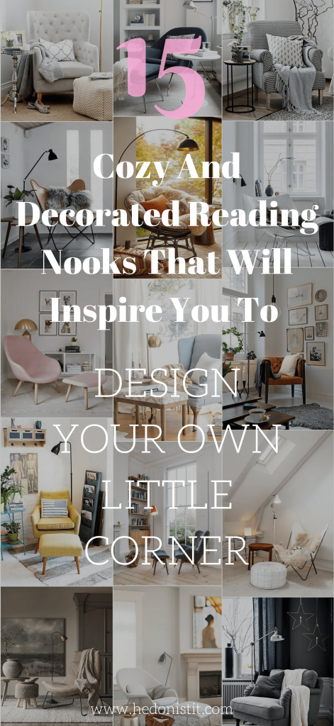 Pinspiration Cozy And Decorated Reading Nooks That Will Inspire