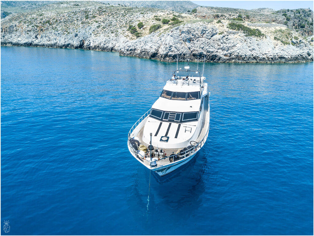 Yacht vacations are not only for the rich and famous anymore - you can actually book an affordable private yacht vacation with only one click! | Travel - our yacht trip in Crete, Greece