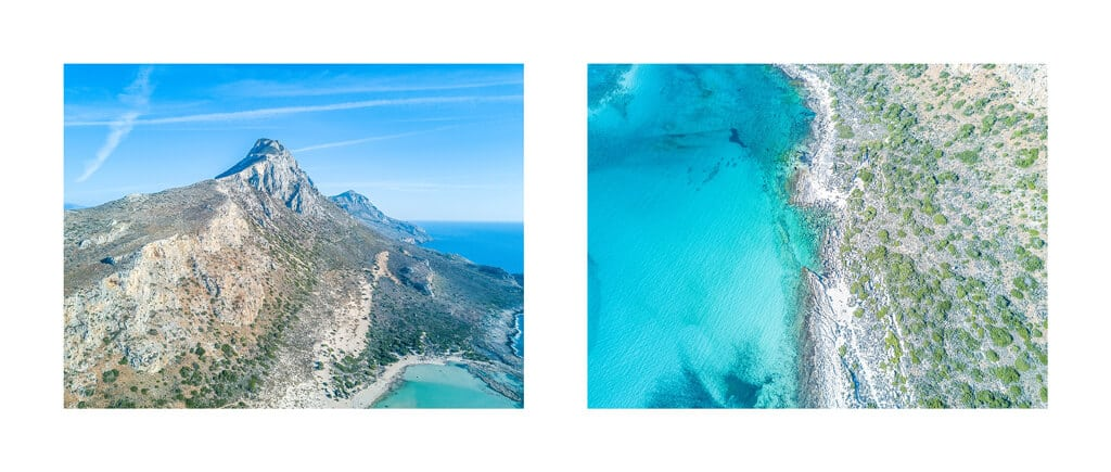 Northwest Crete, Greece - Domes Noruz Chania, Balos beach, Seitan Limania beach Click through to read everything you need to know before traveling into this part of the Greek island // Balos Beach