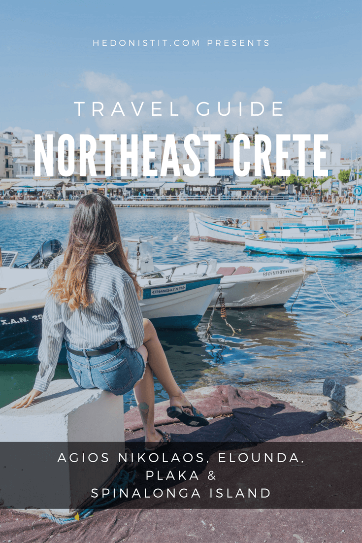 crete greece - 1 Day travel guide to NORTHEAST CRETE : read all about all the cool things to do in the area