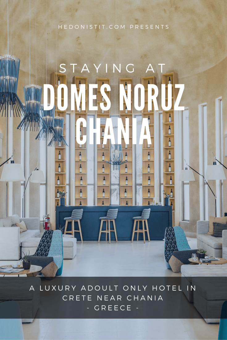 The Domes Noruz Chania in Crete , Greece is the perfect place for honeymoon and romantic vacations. This luxurious heaven is an adult only hotel!!! | Travel to Chania - bucket list!