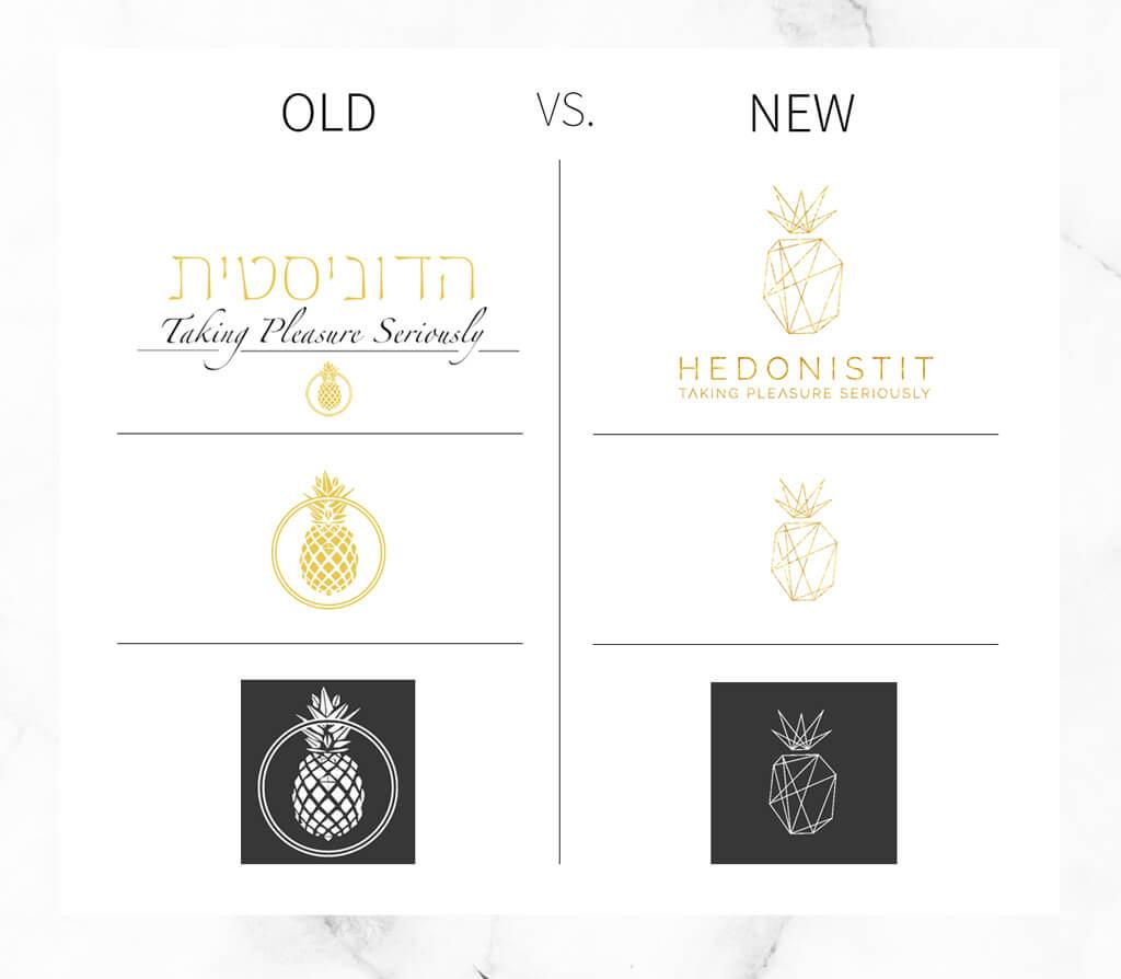 My logo evolution - Hedonistit.com