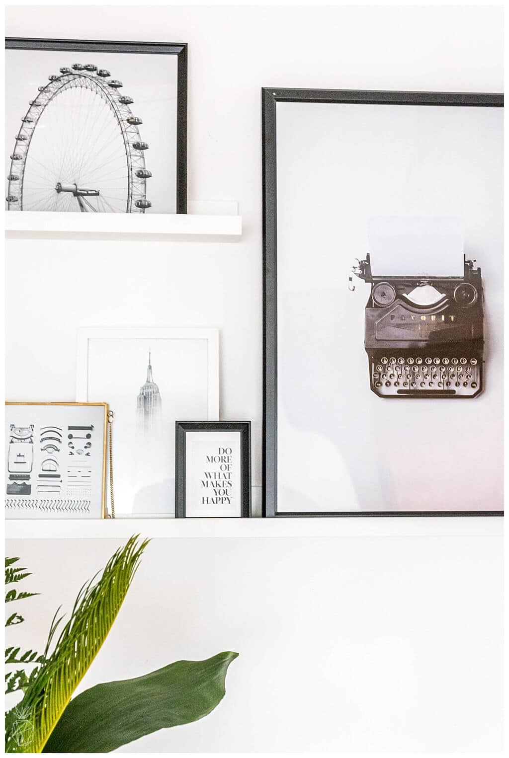 Black and white home decor ideas DIY projects