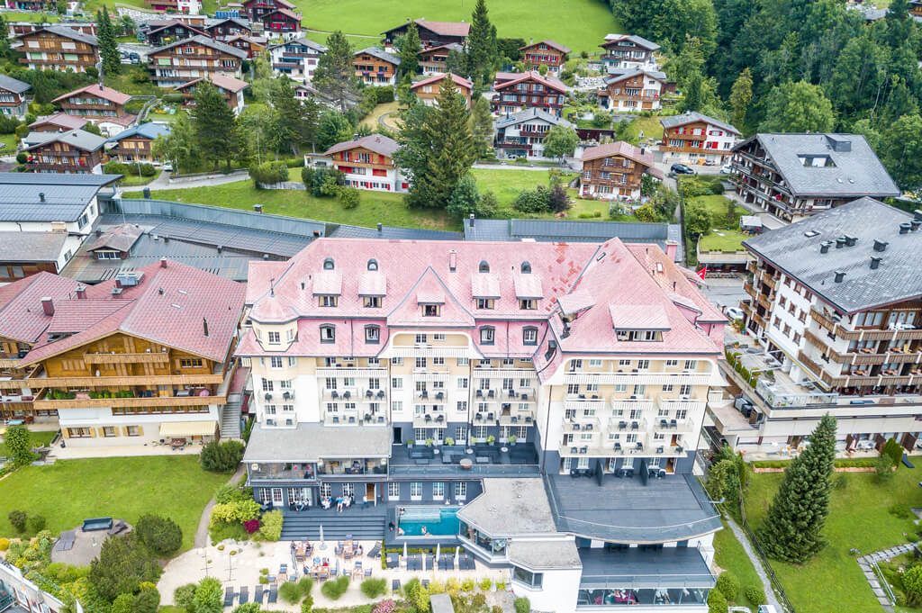 Staying at The Cambrian Adelboden hotel in the Swiss Alps, Switzerland | A UNIQUE TRAVEL DESTINATION TO ADD TO YOUR BUCKET LIST with a breathtaking view