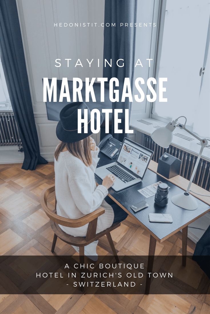 The Marktgasse hotel - Where to stay + Things to do in Zurich, Switzerland - here are the best things to do in beautiful Zurich to enjoy it like a local! | www.hedonistit.com