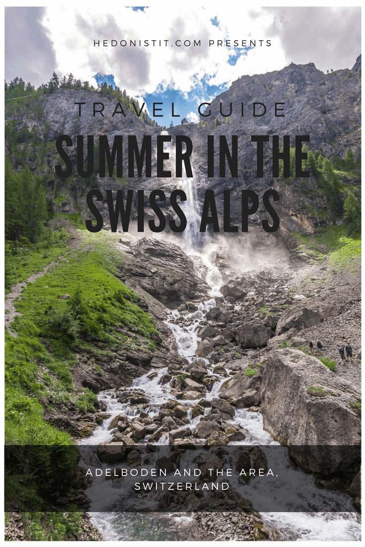 Adelboden Switzerland - a summer trip guide in the Swiss Alps