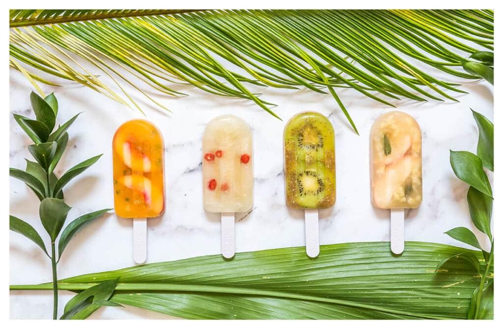 מתכון לארטיק גורמה ביתי מושלם לקיץ החם - ארטיק תפוח, ארטיק מנגו, ארטיק אננס, ארטיק אפרסק