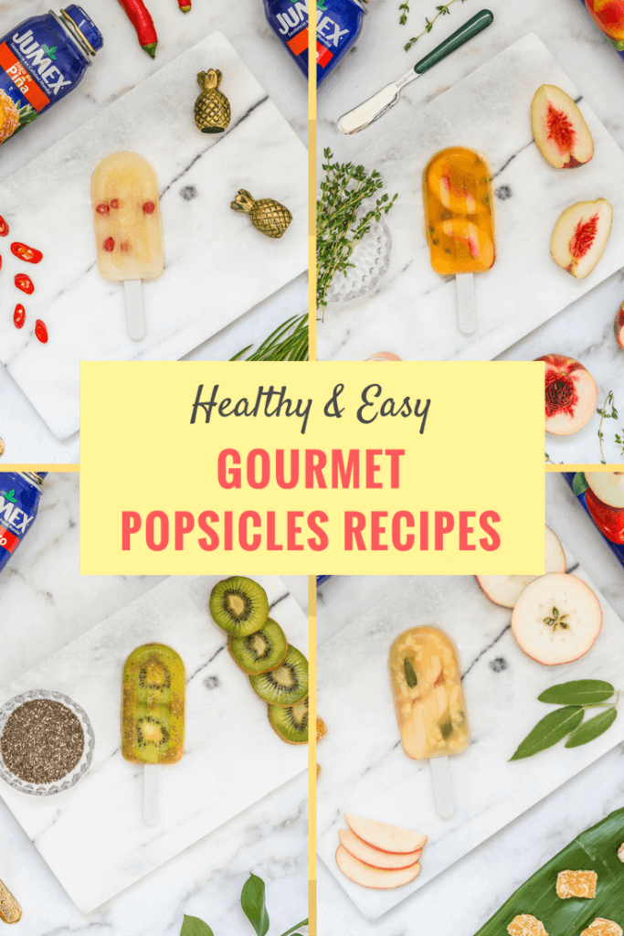 Cool off during the summer with one of these homemade, healthy & easy to make gourmet popsicle recipes