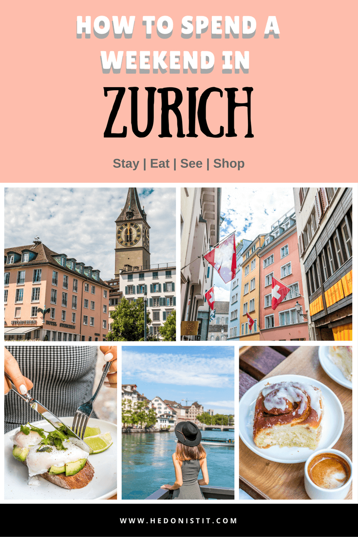 Things to do in Zurich, Switzerland - here are the best things to do in beautiful Zurich to enjoy it like a local! | www.hedonistit.com