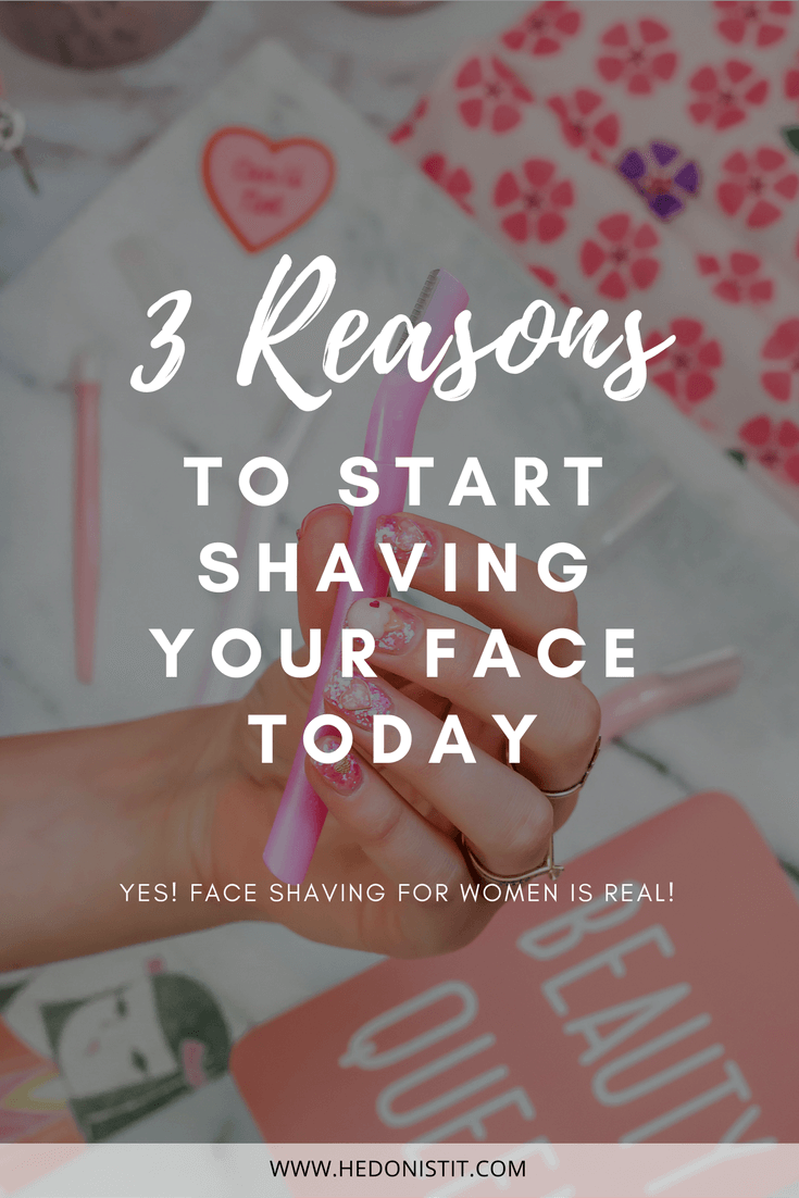 Women Can Too! Face shaving is the best way to remove facial hair - learn how to do it in this article | Beauty tips | Skin care