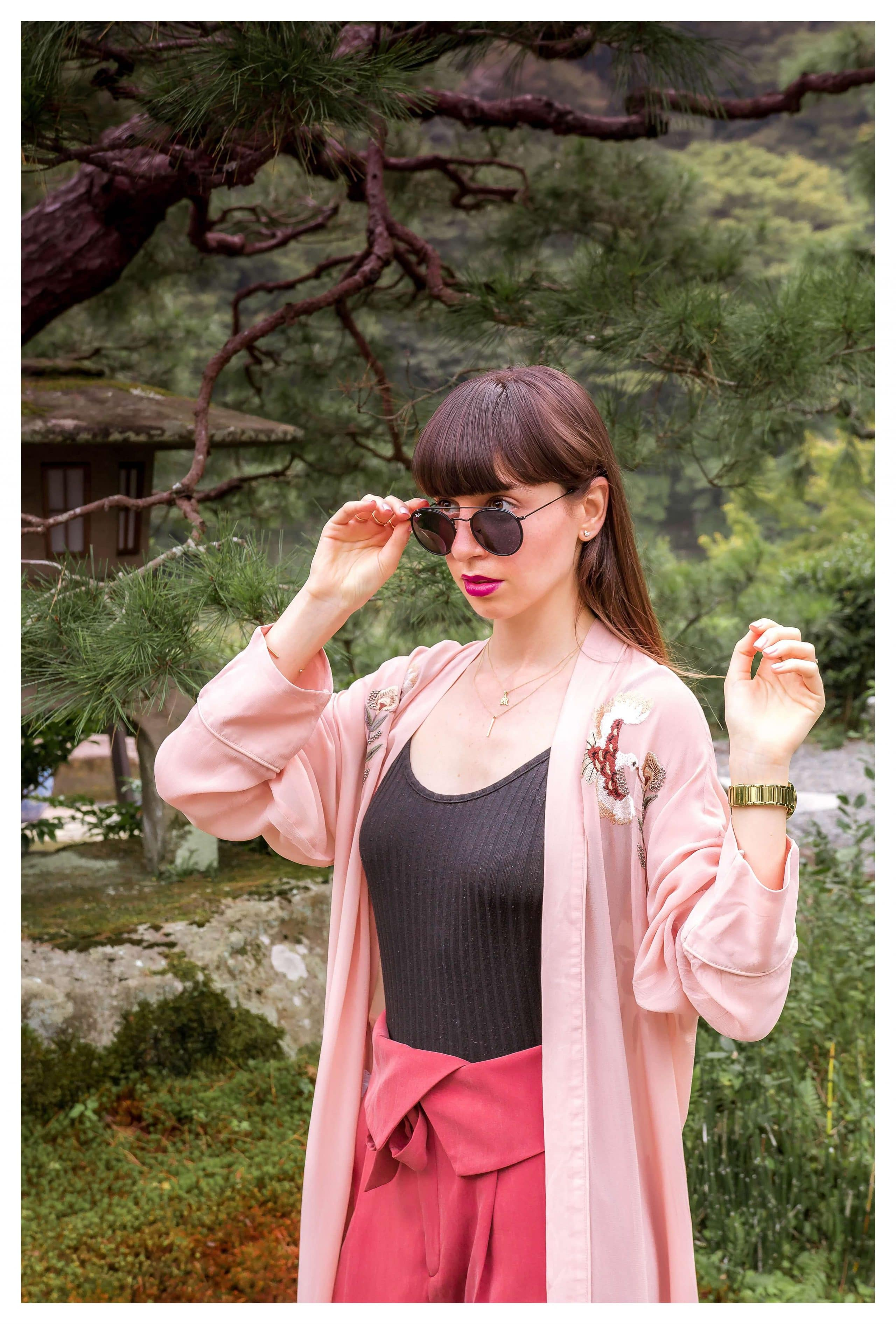 Pink Fall Outfit | Hedonistit.com