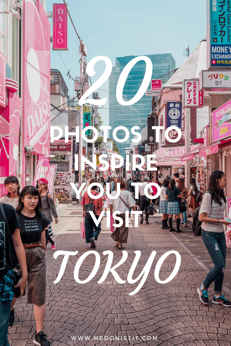 Looking for travel destinations to add to your bucket lists? Take a look at these 20 photos that will inspire you to visit beautiful Tokyo!