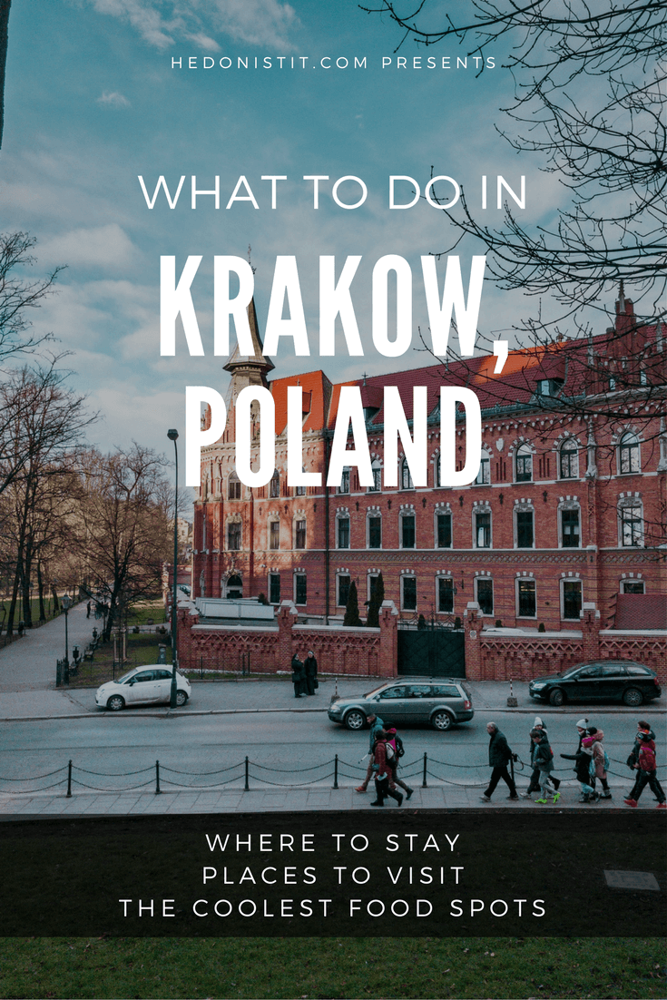 Things to do in Krakow : my tips and recommendations for the best airbnb apartment, things to do in the city and best food spots and restaurants!