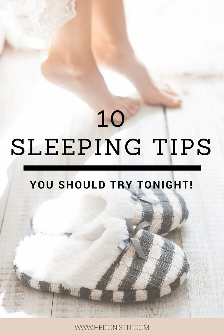 10 things you can do to have an amazing sleep! You can get a better sleep starting tonight.