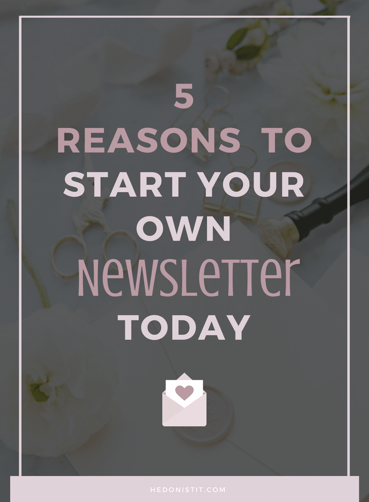 Why Email List is Super Important For Your Blog or Business - click through if you always heard that you need a newsletter to be successful but never understood why