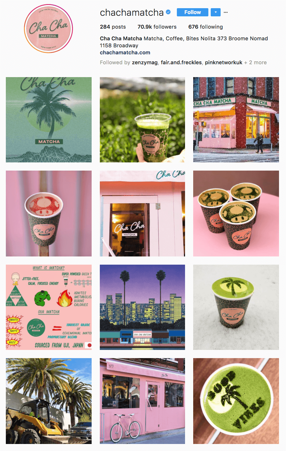 בית קפה למאצ׳ה בניו-יורק - מסעדות קונספט מגניבות בעולם