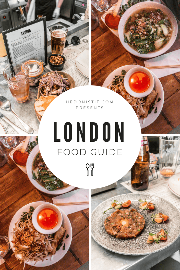 London food guide - my recommendations for restaurants and street food in the capital of England. | www.hedonistit.com